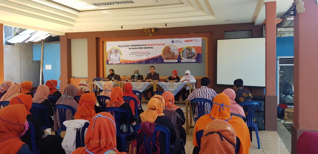 BBPP Kemnaker Gelar Pelatihan Peningkatan Produktivitas di Bulakan