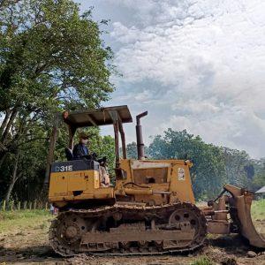Giat Revitalisasi Wisata Candi Batur: Lapangan Diratakan