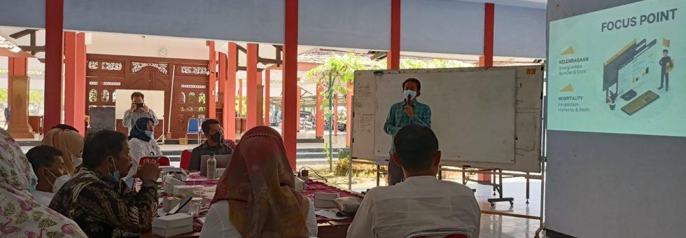 Paparan Laporan Akhir Hasil Pendampingan 5 Desa Wisata oleh CAVENTER Indonesia