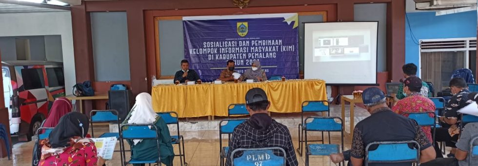Sosialisasi dan Pembinaan KIM oleh Diskominfo Pemalang